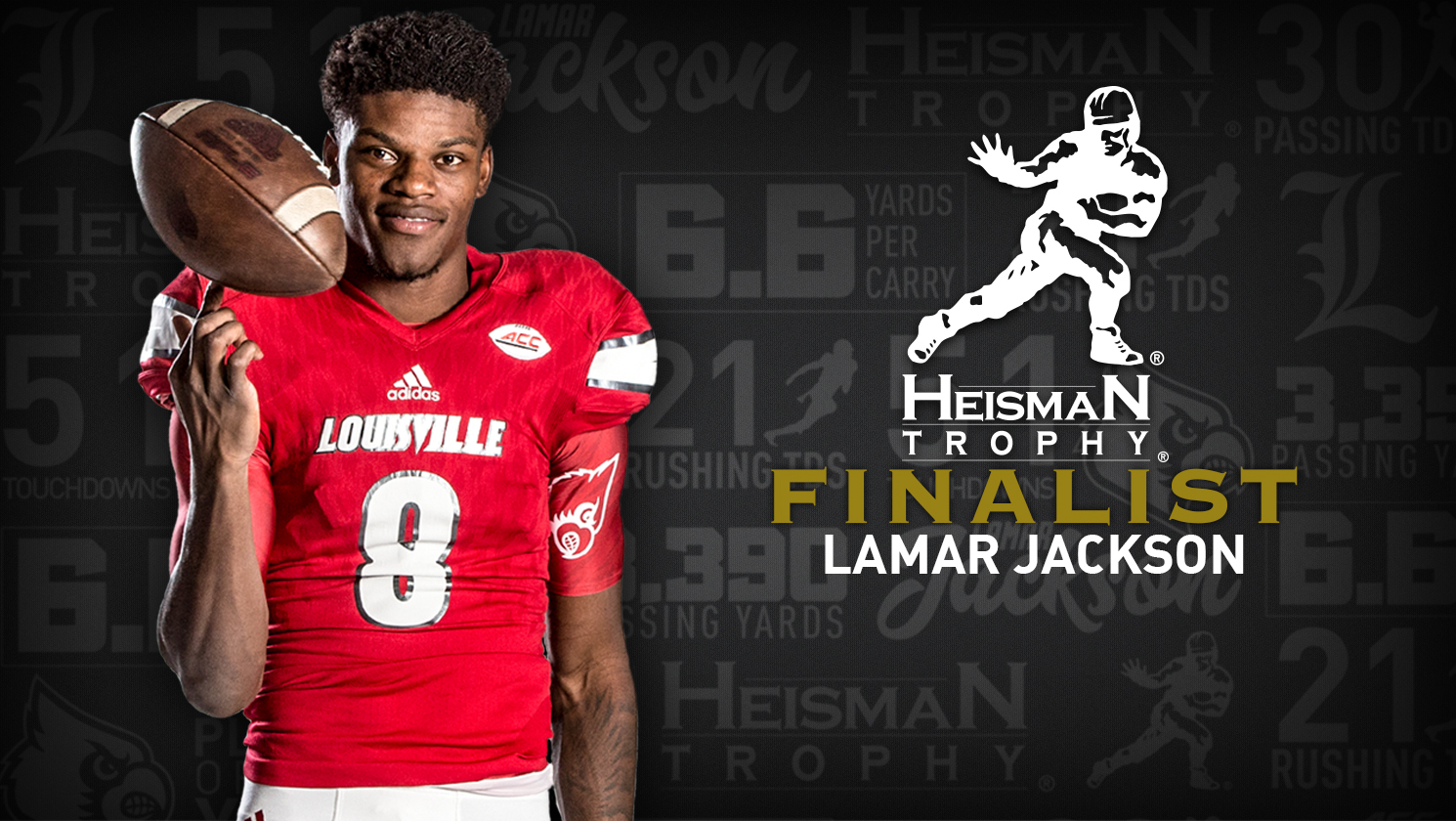 0bcaeeb6f Jackson Named School's First Heisman Trophy Finalist - University of ...