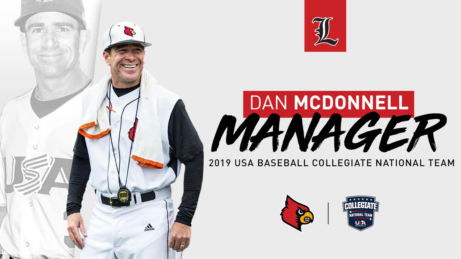 USA Baseball Names McDonnell Manager of 2019 Collegiate National