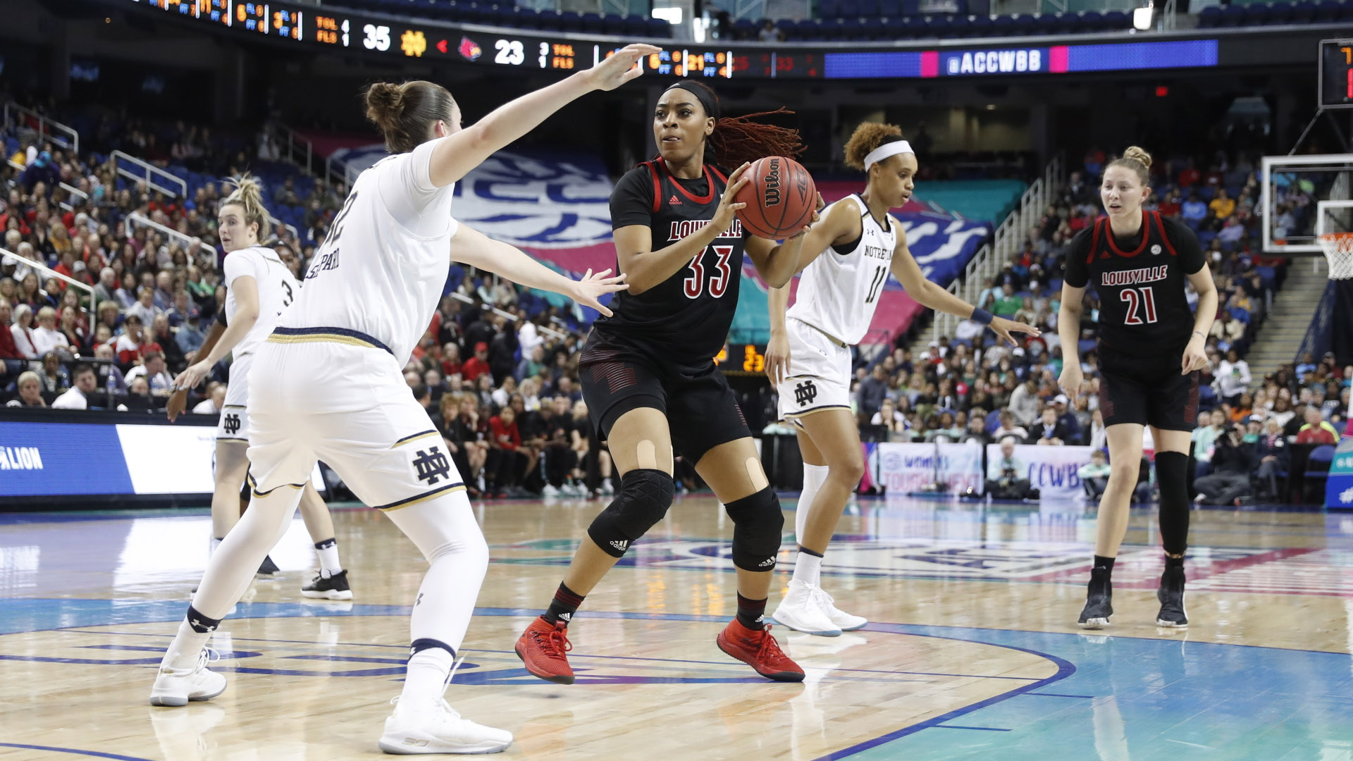 No 3 Louisville Falls To No 4 Notre Dame In Acc Championship University Of Louisville Athletics