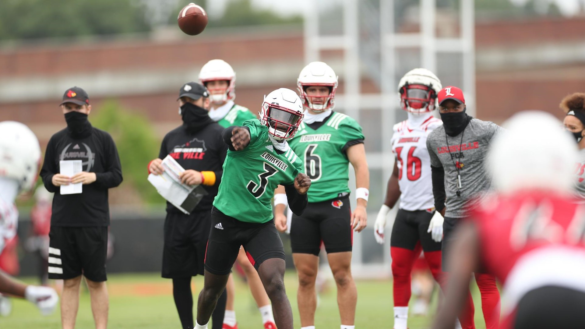 Cunningham Cardinals Begin Fall Camp University Of Louisville Athletics